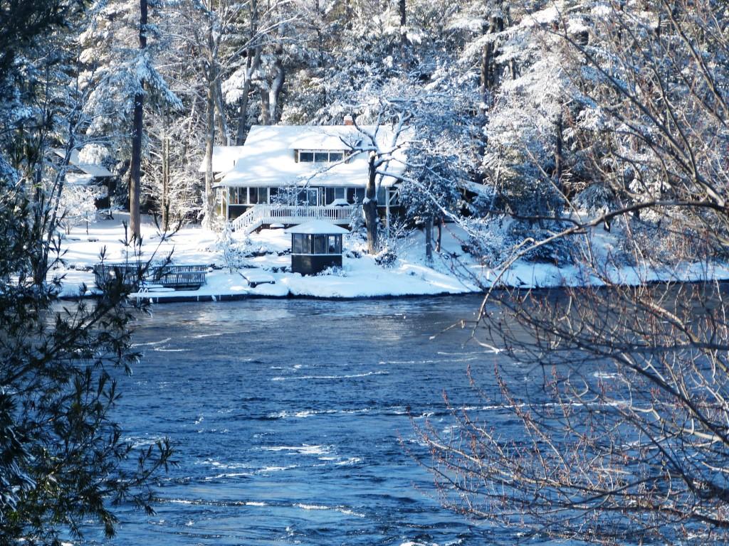 Muskoka Winter Rosskoka Team Muskoka Cottages For Sale