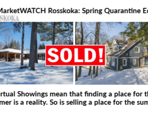 MarketWATCH Muskoka: Spring Quarantine Edition