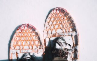 see muskoka cottages in snowshoes