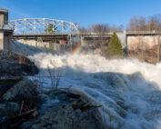 Bracebridge Falls Flooding