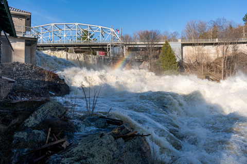 Bracebridge Falls Flooding