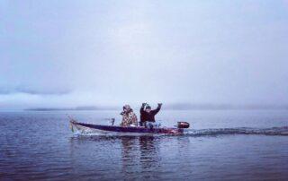 Tinny on Lake Muskoka